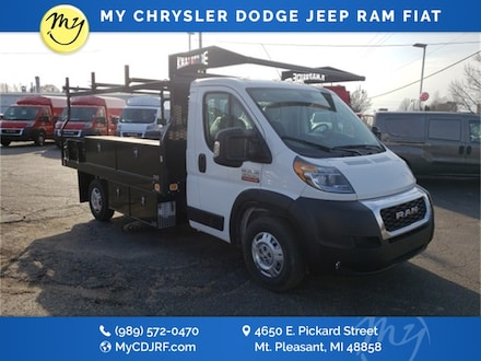 Featured New 2019 Ram ProMaster 3500 CHASSIS CAB 159 WB / 104 CA Chassis for sale in Mt. Pleasant, MI