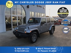 Certified Pre-Owned 2014 Jeep Wrangler Unlimited Rubicon 4x4 SUV 1C4HJWFG4EL112216 for sale in Mt Pleasant, MI