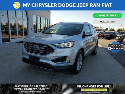 Featured Used 2019 Ford Edge Titanium SUV for sale in Mt. Pleasant, MI