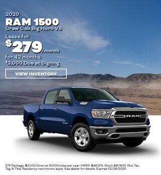 February- 2020 Ram 1500