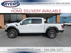 2020 Ford F-150 Raptor 4WD Supercrew 5.5 Box Truck SuperCrew Cab