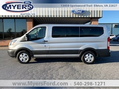 2019 Ford Transit-150 XLT w/Sliding Pass-Side Cargo Door Wagon Low Roof Passenger Van