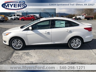 2018 Ford Focus Titanium Sedan Sedan
