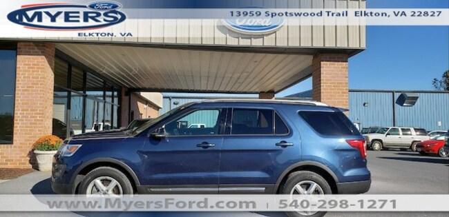 2016 Ford Explorer 4X4 4dr XLT SUV