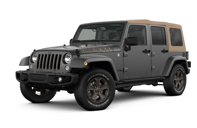 New 2018 Jeep Wrangler JK UNLIMITED GOLDEN EAGLE 4X4 Sport Utility for sale in Salinas, CA