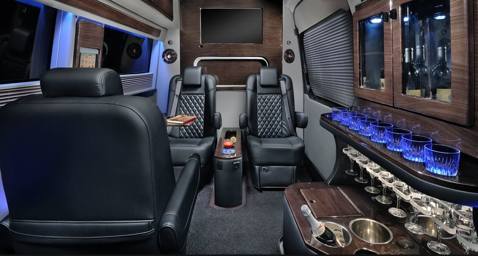 Mercedes Luxury Shuttle Van