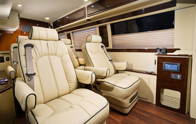 Luxury Mobile Office Sprinter Van