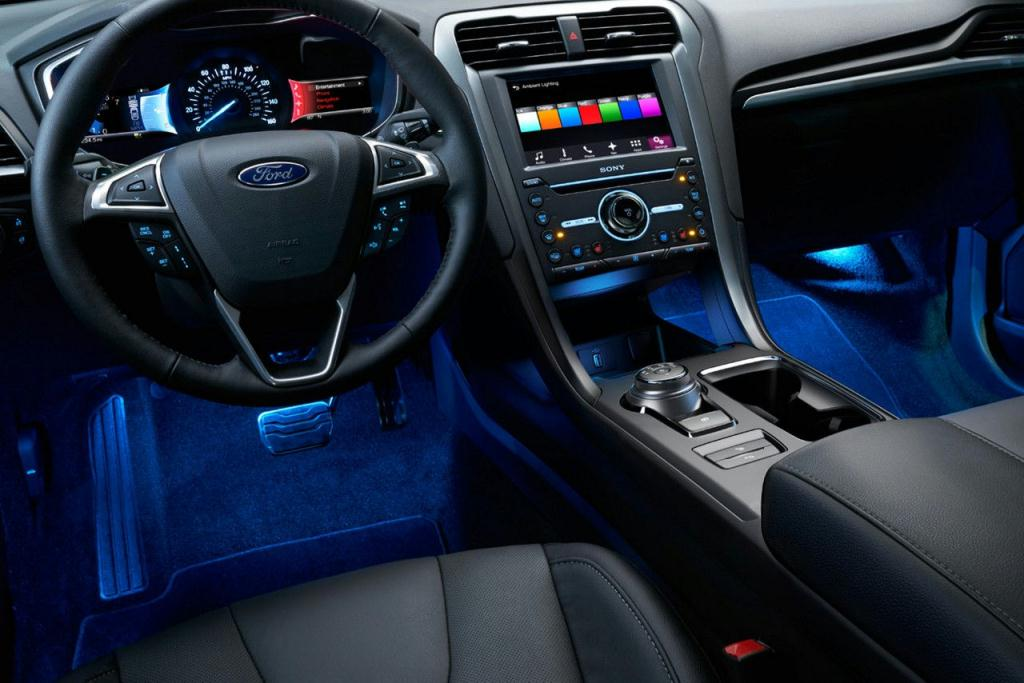 Ford Fusion Titanium featuring Ambient Lighting