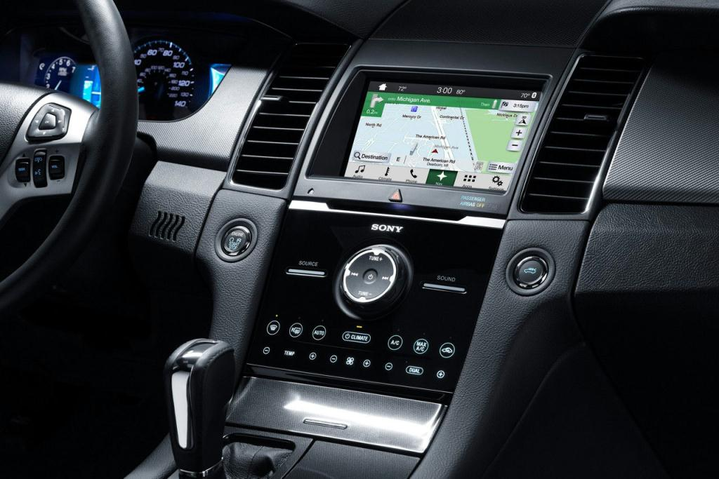 Ford Taurus SHO available Navigation System
