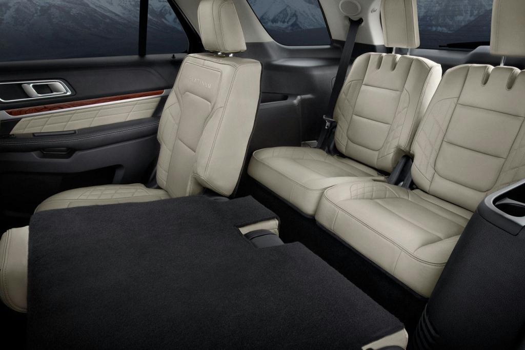 Ford Explorer PowerFold third-row seating