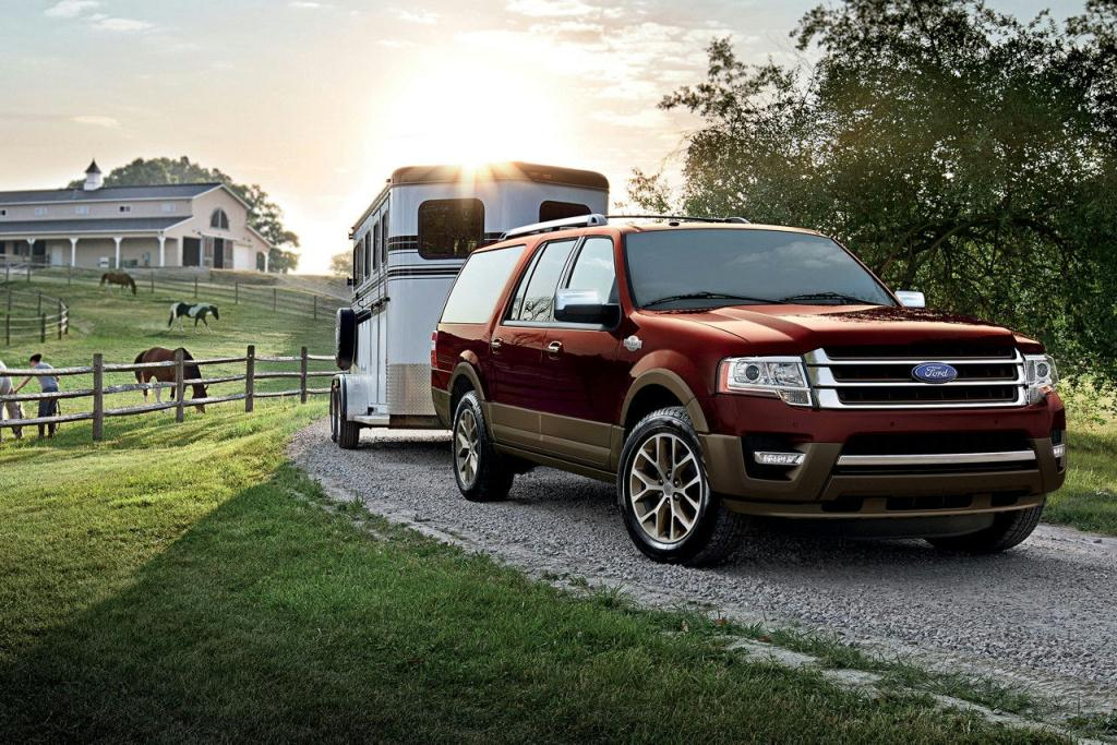 2017 Ford Expedition King Ranch in Bronze Fire