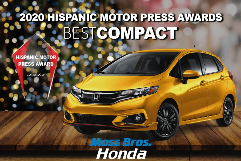 2020 Hispanic Motor Press Award for Best Sub-Compact: Honda Fit EX