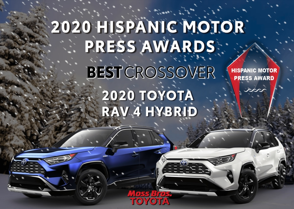 2020 Hispanic Motor Press Award for Best Crossover: Toyota RAV4 Hybrid XSE