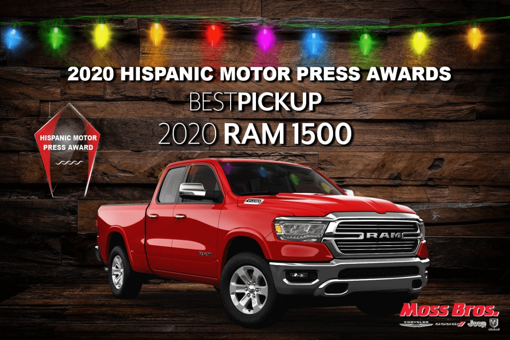 2020 Hispanic Motor Press Award for Best Pickup: Ram 1500