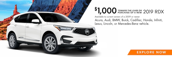 2019 RDX Loyalty/Conquest Offer