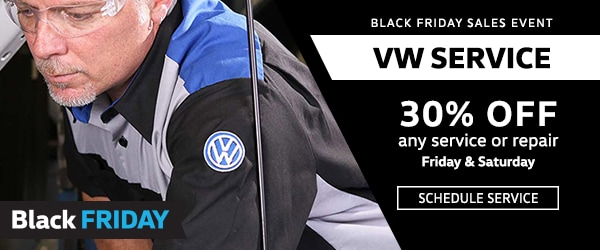 VW Service Black Friday
