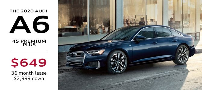 2020 Audi A6 Lease Special Atlanta
