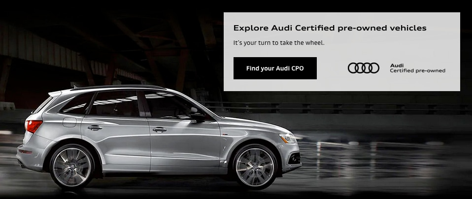 Audi Certified pre-owned