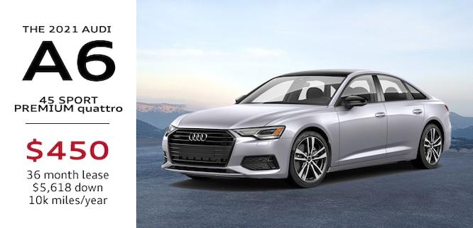 2021 Audi A6 Lease Special Atlanta