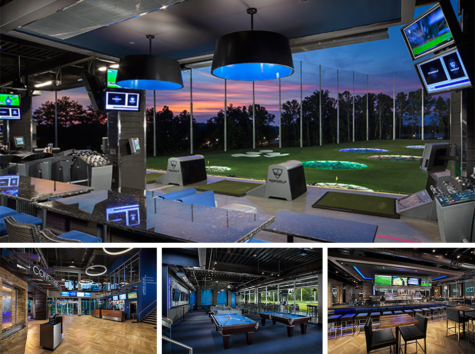 Topgolf Alpharetta Interior