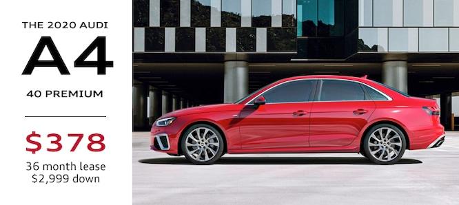 2020 Audi A4 Lease Special Atlanta