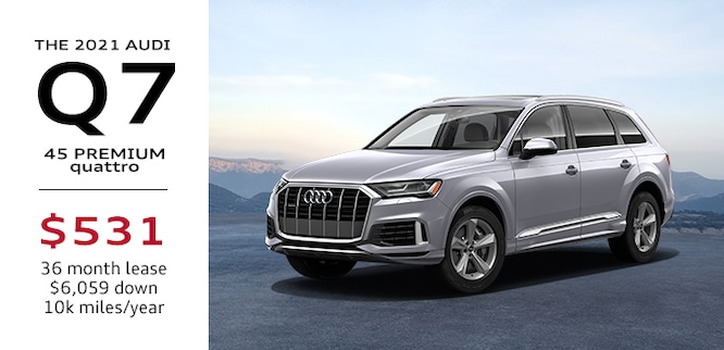 2021 Audi Q7 Lease Special Atlanta