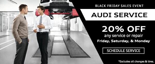 Audi Service Black Friday 2016
