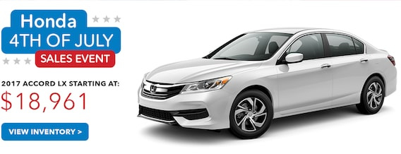 Honda 4th of July Specials | 4th of July Service & New Car Offers