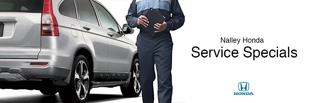 Nalley Honda Social Service Specials