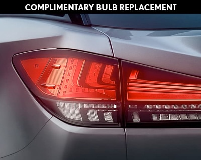 Complimentary Bulb Replacement