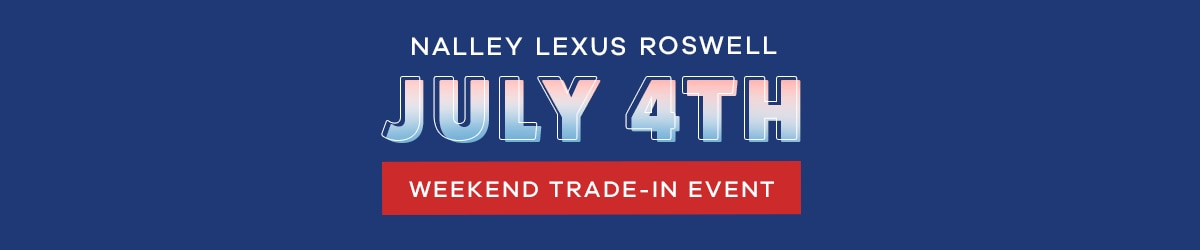 July 4th Weekend Trade-In Event