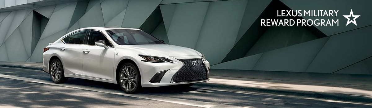 Lexus Military Reward Program