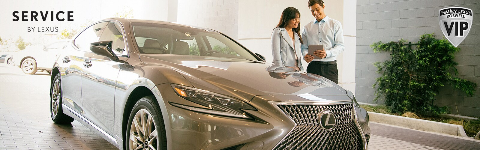 Lexus Service Amenities
