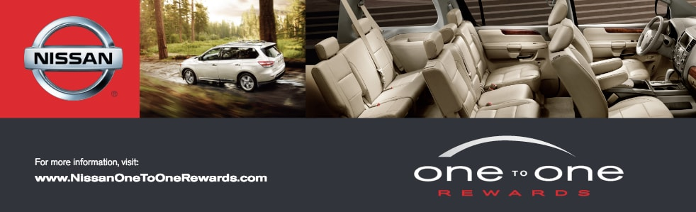 Nissan One To One Rewards