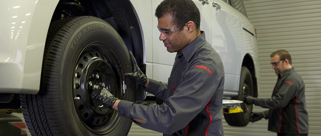 Nissan Express Tire Rotation