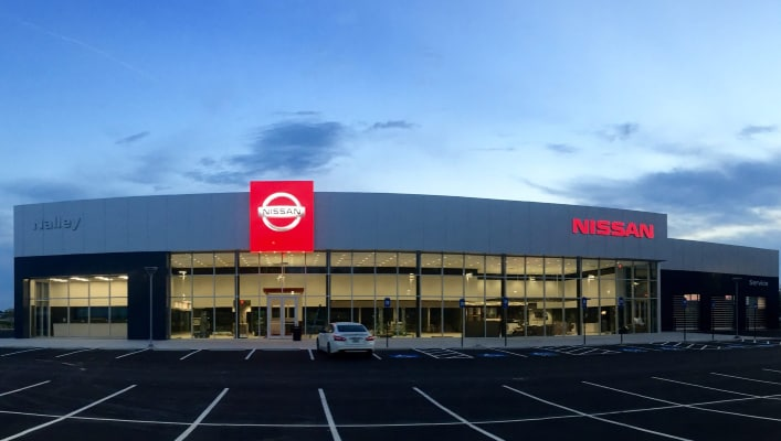 Nalley Nissan storefront.png