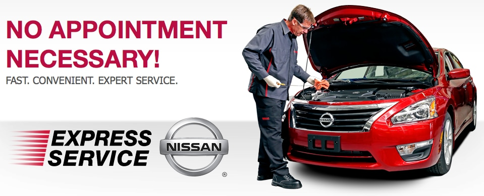 Nalley Nissan of Atlanta Express Service