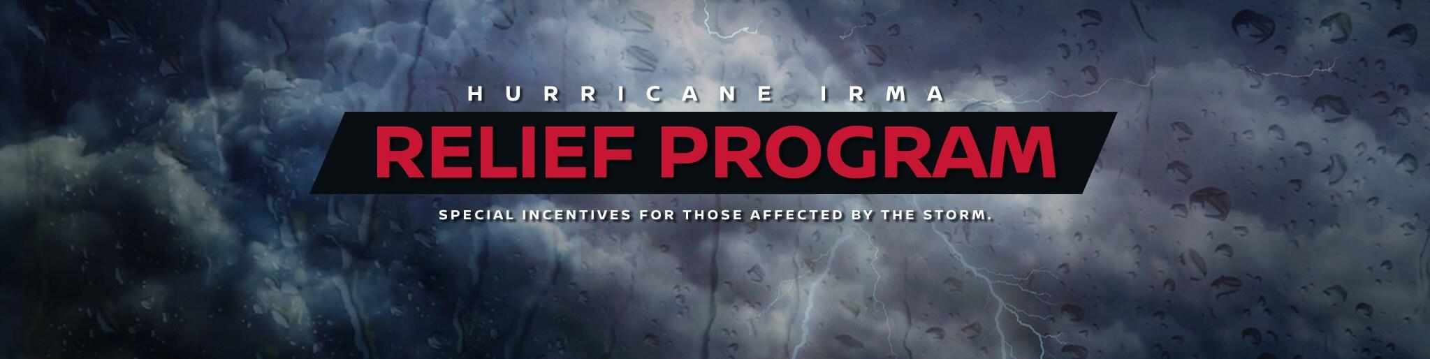 Nissan Hurricane Irma Relief Program