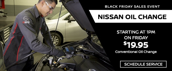 Nissan Service Black Friday 2016