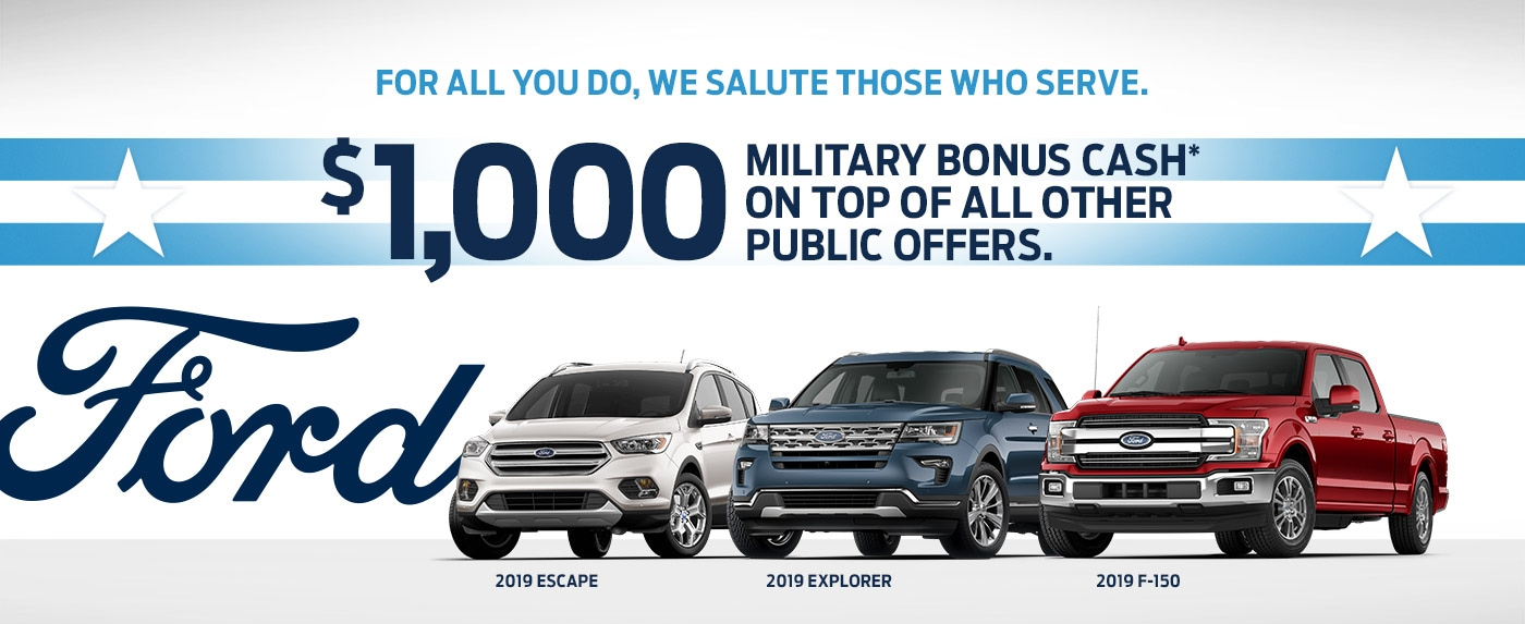 Ford Military Appreciation Program