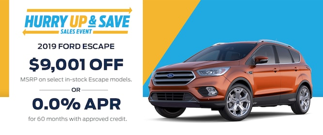 2019 Ford Escape Special Atlanta