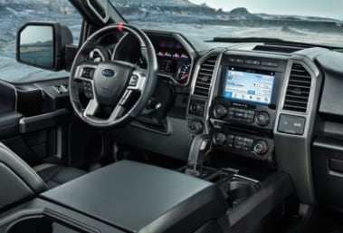 2017 Ford F150 Raptor Interior