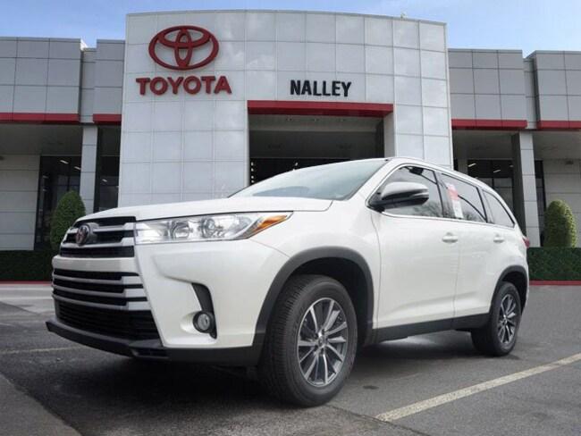 New 2019 Toyota Highlander Xle V6 For Sale Serving Atlanta Ga