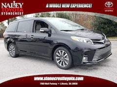 New 2019 Toyota Sienna Limited Premium Van