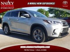 New 2019 Toyota Highlander Hybrid Hybrid Limited Platinum SUV