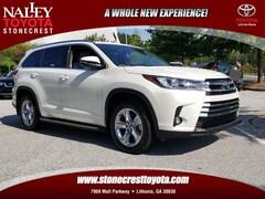 New 2019 Toyota Highlander Limited SUV