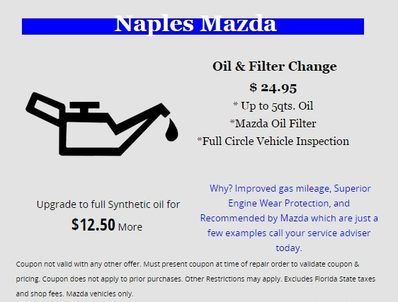 Oil change naples fl oil change coupons naples mazda contact solutioingenieria Images