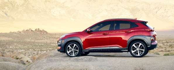 2020 Hyundai Kona Exterior Side View