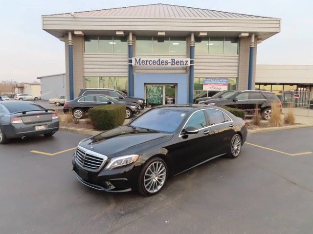 2014 Mercedes-Benz S-Class 4dr Sdn S 550 4MATIC Sedan