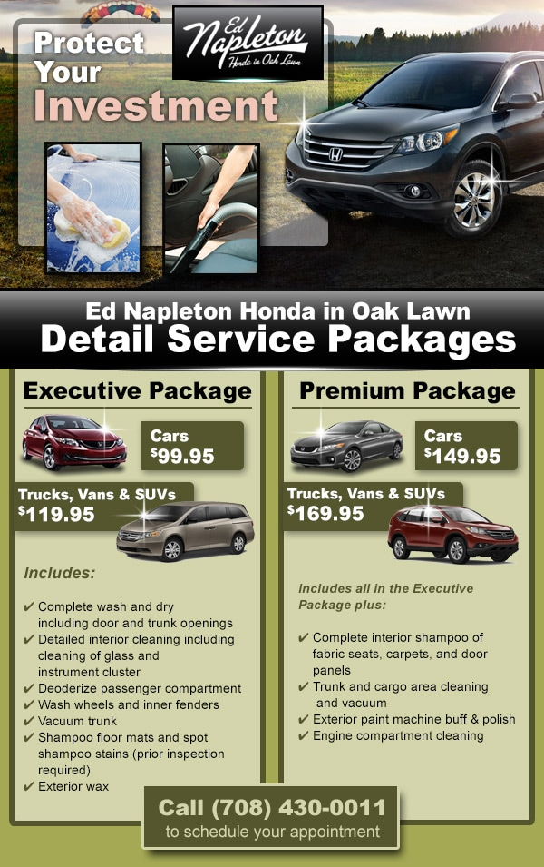 Ed Napleton Honda in Oak Lawn | New Honda dealership in Oak Lawn, IL